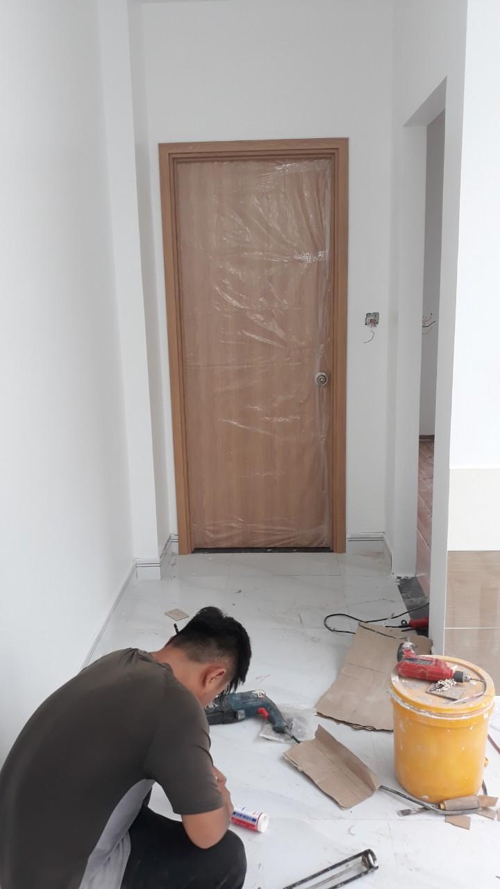 cửa nhựa gỗ composite tân phú
