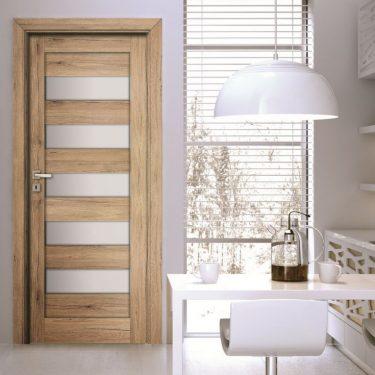 cửa gỗ ô kính